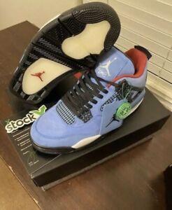 Size 10 - Jordan 4 Retro x Travis Scott Cactus Jack 2018