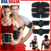 Electric Muscle Toner Tens Machine Pulse Toning Belt Simulation Abs Fat Burner