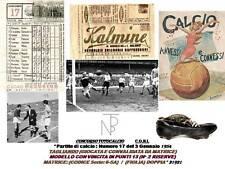 Calcio-Coni / TOTOCALCIO (Schedina) Perugina-1954