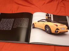 2011 FERRARI CALIFORNIA Hardcover Brochure Prospekt - 3753/10