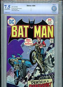 Batman #264  CBCS 7.5 VF- 1973 B15 DC Comics