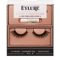 new In Box Eylure Cosmetics London Luxe Cashmere Eyelashes No. 6