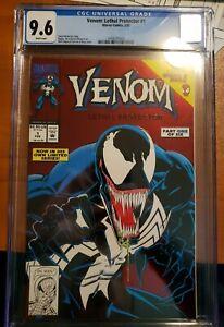 VENOM LETHAL PROTECTOR #1 (1993) | CBCS 9.6 White Page | 1st Venom Titled Series