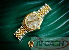 SOLD!!! Authentic 2014 Rolex Datejust Mid-size Watch 178273 18K GOLD