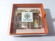 NIB Tory Burch Eau de Parfum Duo Set- First & Absolu EDP Mini Travel Size Boxed