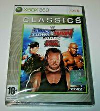 WWE SmackDown vs Raw 2008 XBOX 360 Classics (PAL España precintado)