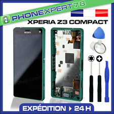 ÉCRAN LCD + VITRE TACTILE BLOC ASSEMBLÉ ORIGINAL SONY XPERIA Z3 COMPACT VERT