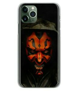 Star Wars Darth Maul soft case cover for iPhone 12 11 Pro XS Max XR Samsung S20