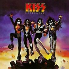 FREE US SHIP. on ANY 2+ CDs! ~Used,Good CD Kiss: Destroyer Original recording re