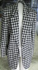 CLASSIQUES Over Size Houndstooth Women's Jacket Size Small - XSmall  L@@K NOW