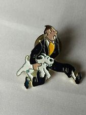 Tintin - Pins Tintin et Milou qui courent / HERGE /