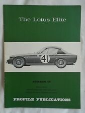 The Lotus Elite Profile Publications No 48