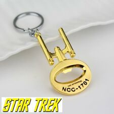 Limited Star Trek Ncc 1701 Keychain Enterprise Gold Collectible Comiccon