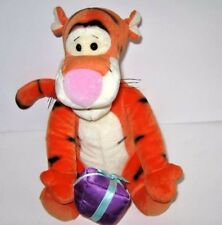 PLUSH TIGGER THE TIGER Doll Toy with PRESENT Disney