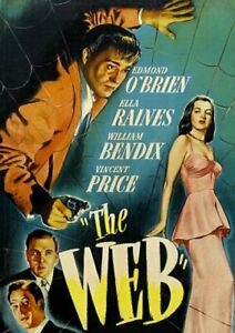 The Web - Edmond O'Brien - Vincent Price - New and Sealed Region 1 DVD
