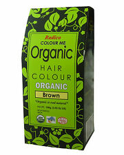 Radico Colour Me 100g Organic Hair Color - Brown