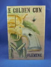 THE MAN WITH THE GOLDEN GUN Ian Fleming, First UK Edition 1st Print, 1965