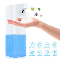 Automatic Foam Soap Dispenser Touchless Foam Liquid Hand Washer Bathroom 350ML