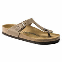 Birkenstock Gizeh Ladies Tobacco Brown Sandals 38