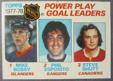 1978-79 Topps #67 Power Play Goals Bossy/Esposito/Shutt New York Islanders