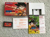 DRAGONBALL Adventure GBA Nintendo GameBoy Advance NTSC-J JAPAN Import CIB F/S