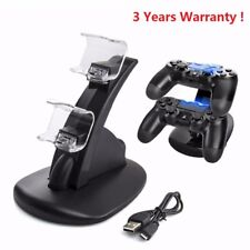 PS4 PlayStation4 Controller LED Dual Charger Dock Station USB Charging Stand