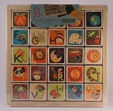 B. Magnetic Alphabetic Puzzle Planks
