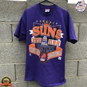 Vintage 1993 NBA Finals Phoenix Suns T-shirt NBA Basketball Team Champs 2021 Tee