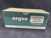 "Vintage Argus Automatic Slide Changer Magazine Cartridge 36 2"" x 2"" W Box"