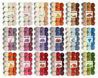 Scented Tea Lights 30 PACK Tealights Candle 18 SCENTS 4-5hrs burning time