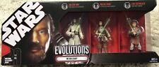 The Jedi Legacy 2008 STAR WARS Evolutions Battle Packs NEW/SEALED
