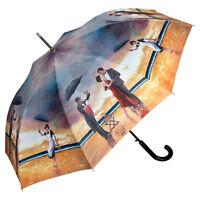 Regenschirm Automatik Damen Herren Kunst Theo Michael Hommage Singing Butler