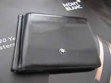 Montblanc Leather Money Clip Credt Card holder in box