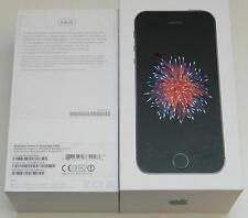 iPhone SE Mobile Phone Space Gray 64GB (MLM62B/A) Original EMPTY RETAIL BOX