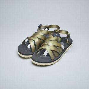 Suicoke Sama sandals, Olive, NWT