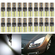 20x Car LED Bulb T10 W5W Canbus Error Free 24smd 3014 Side Light 194 168 12V
