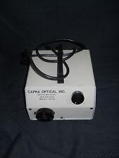 Used Capra QHI-85 Fiber Optic Illuminator without Lamp, 120V 2A 60Hz, FOI-1