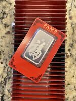 PAMP Suisse True Happiness 1oz .999 Silver Bar Sealed Assay Card