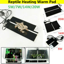 Reptile Pet Heat Mat Heating Warm Heater Pad With Open Thermostat Controller TP