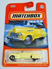 Matchbox 1941 Cadillac Series '62 Convertible Coupe #34 34/100 2021 Basic Car