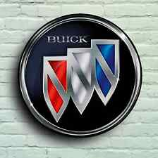 BUICK LARGE 2FT GARAGE WALL SIGN BADGE CLASSIC CAR ENCLAVE ENCORE LACROSSE