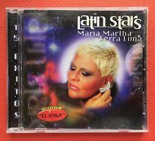 Maria Martha Serra Lima Latin Stars Volver Volver El Viaje Bolero CD SONY 1998