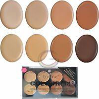 Technic Colour Fix Cream Foundation Contour Palette 2 Face Shape Bronze Make Up