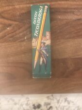Vintage Dixon Ticonderoga 12 Pencils Damaged Box #1388 Medium 2. See Photos
