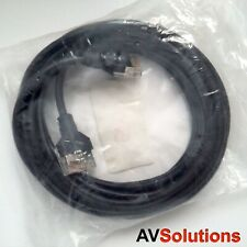 5 Metres Bang & Olufsen B&O MasterLink/BeoLink Cable (Black) ***New/Old Stock***