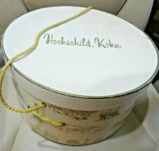 Rare Vintage 1950's Hochschild Kohn Department Store Hat Box with Handle