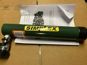 """R1010 SIMPLEX, 10 TON 10"""" STROKE S/A SPRING RETURN CYLINDER, NEW"""