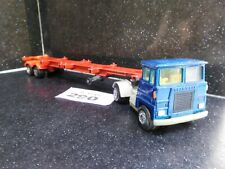 Matchbox Superkings Scammell Tractor & Container Trailer (290)