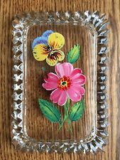 Glass Candy Dish Lid