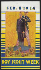 WWII Boy Scouts of America - political, appears 1930s